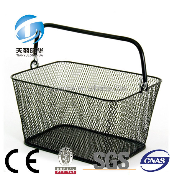 Mini Wire Mesh Shopping Basket