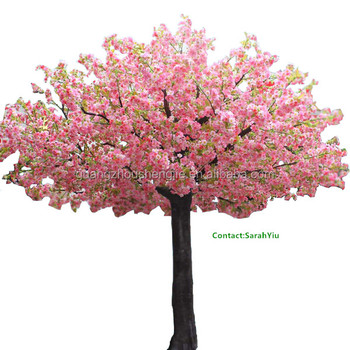 artificial plant/artificial plants and trees/china pink cherry Artificial Plants and Trees