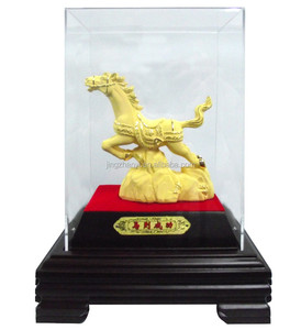 2015 Chinese new year horse souvenir, brass horse figurine