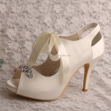 Customize Wedding Platform Pump Shoes