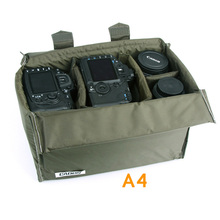 CADeN A4 Camera Portable Insert Bags Digital Video Photo Waterproof Durable Nylon Storage Case Bag for DSLR
