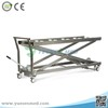 Medical stainless steel hydraulic mortuary cart