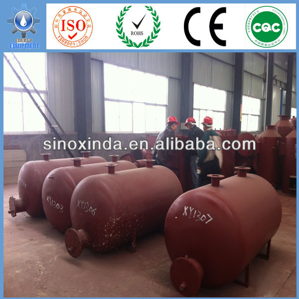X-Ray Tech. of Xinxiang Xinda Energy fuel oil get from waste tyres with CE