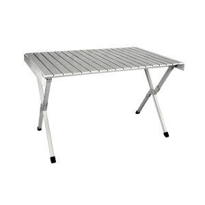 Custom made aluminum table and chair for outdoor use