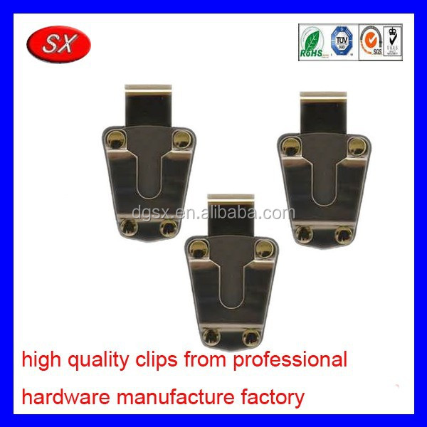 customized steel swivel belt clip & holster combo for bags spring steel belt clip stamping part