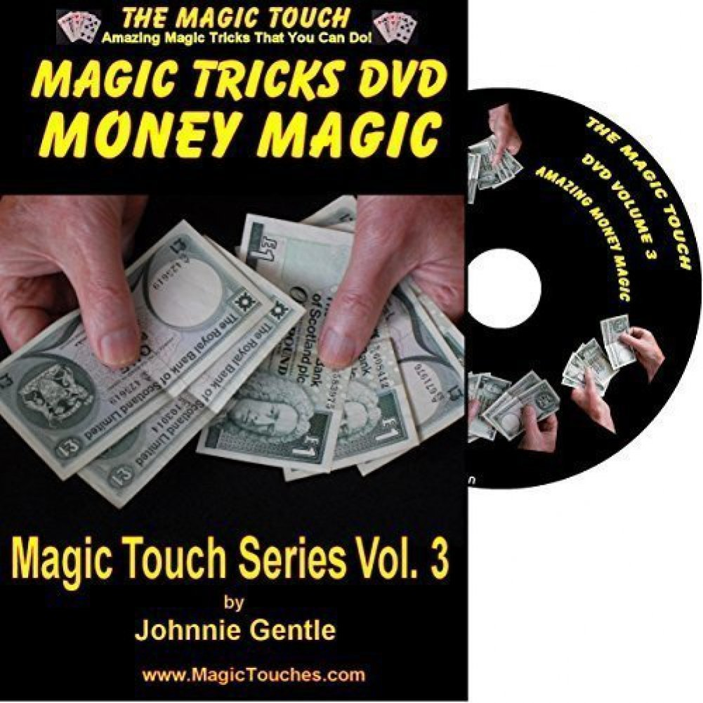 MAGIC TRICKS WITH MONEY - Amazing Money Magic Tricks DVD Volume 3 - With Full Demonstration and Explanation of Basic Skills to Enable You to Perform Many Stunning Magical Effects with Money, Coin Tricks, Tricks with Banknotes and Dollar Bills, Self Working Tricks and Easy Tricks That You Can Do To