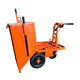 Push Type 600kg construction load electric hot sale electric cargo tricycle heavy loading