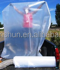 Walmart Extra Large Clear Plastic Bags Giant Size 56 X 60