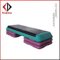 Fitness equipment exercise plastic PP aerobic step exercise