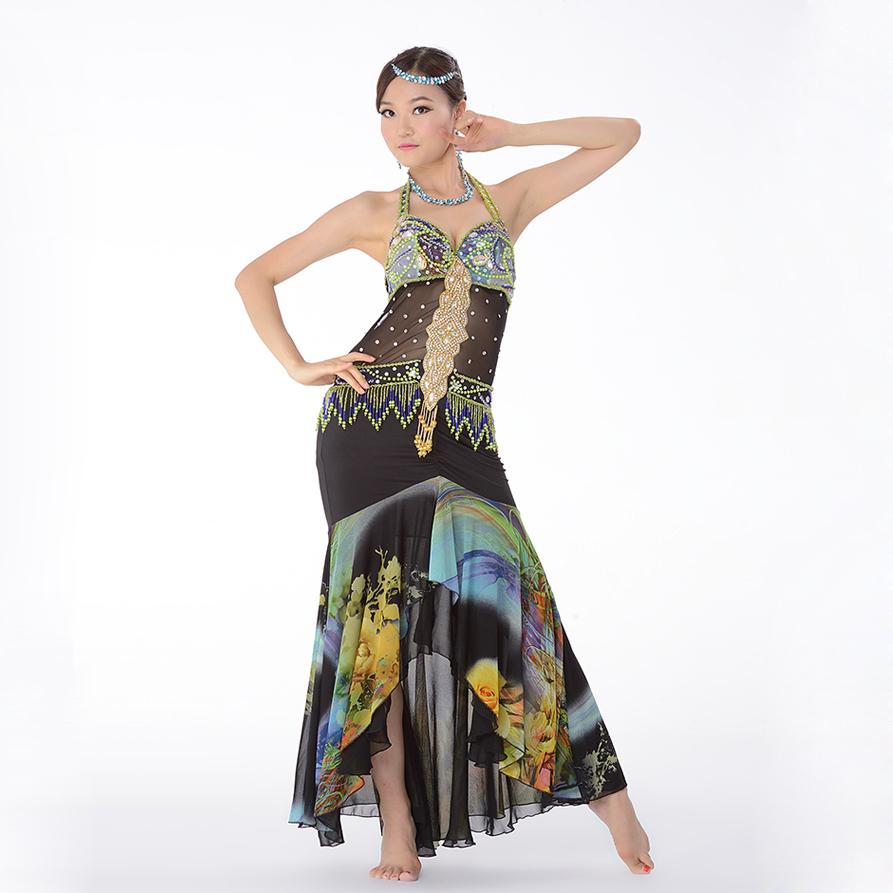 Oriental Belly Dance Dress Flamenco Skirt Belly Dance ...