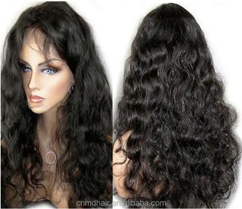 18 Inch Water Wave Brazilian Virgin Human Hair Wigs For Black Women ... 71d8c608f5
