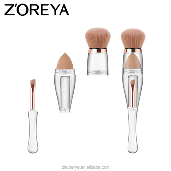 Free Sample Makeup Brushes/Crystal Handle Makeup Brush Set/Custom Logo Make Up Brushes