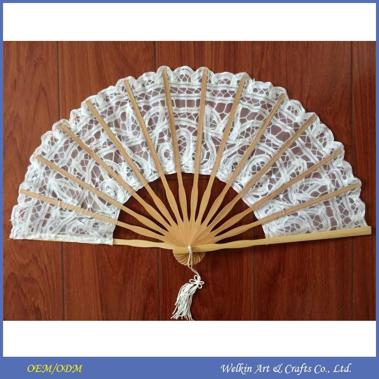 Custom Printed Folding Silk Hand Fan Cheap China Factory