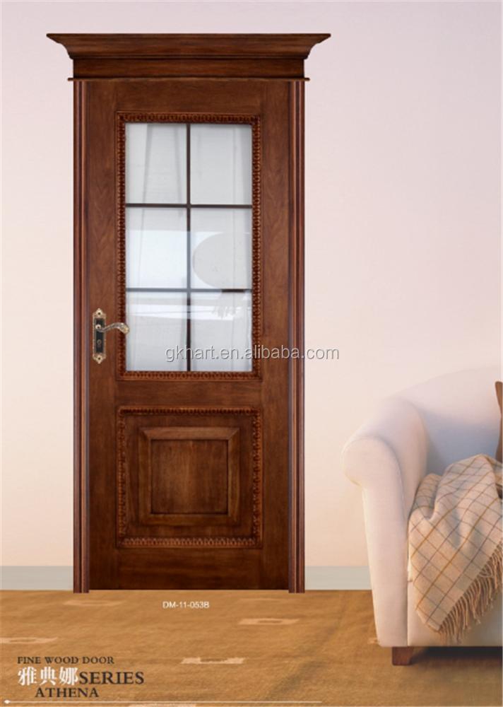 Hdf pittura porte interne con cornice in legno porte in - Cornice per porte interne ...