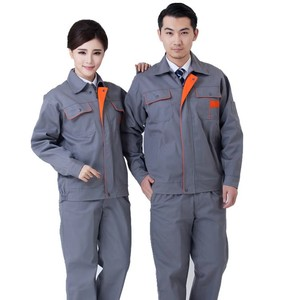 Cheap wholesale safety worker uniform overall factory work wear uniforms Engineering Working Uniform