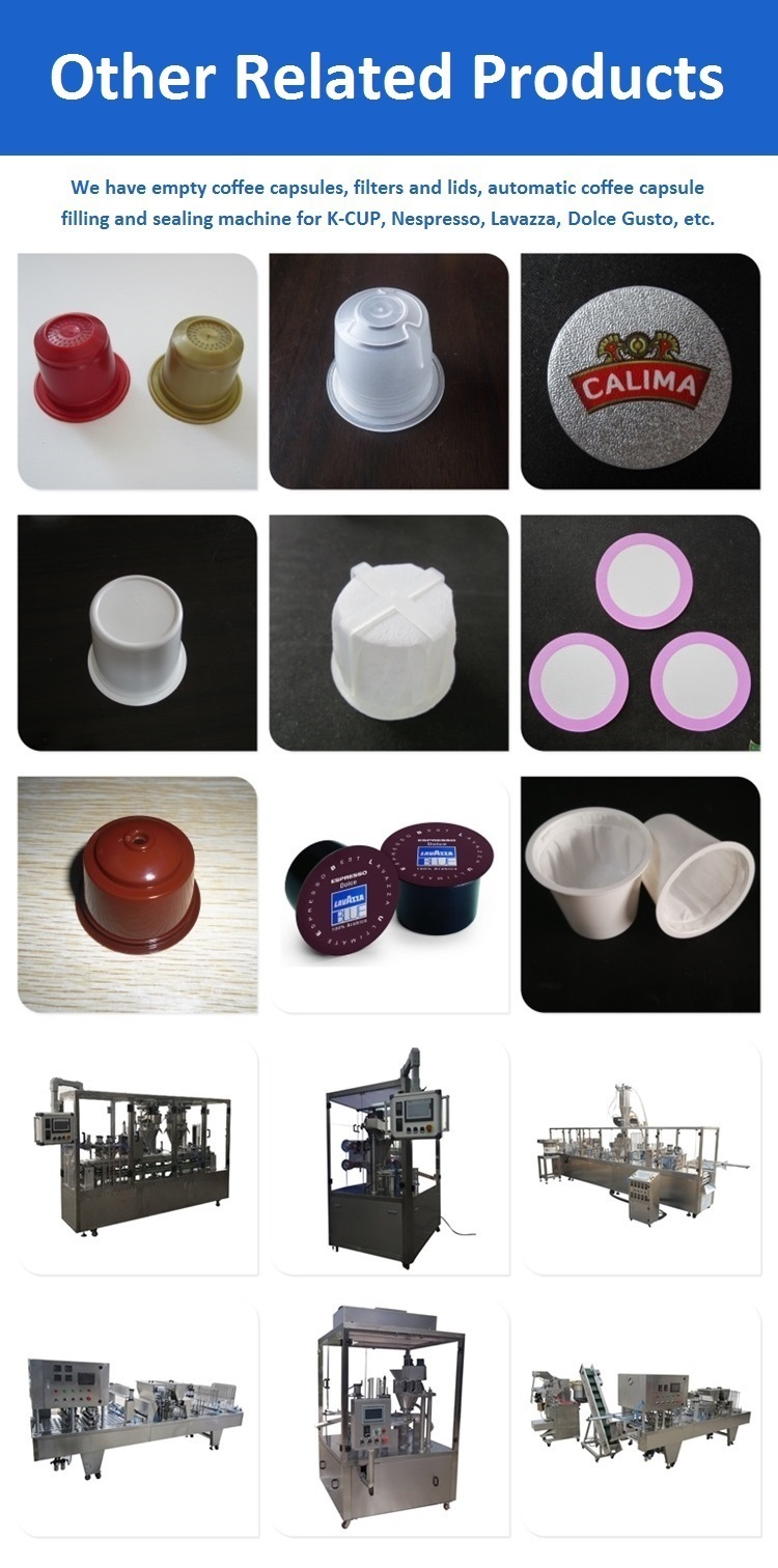 Automatic cbd k cups powder filling and sealing machine