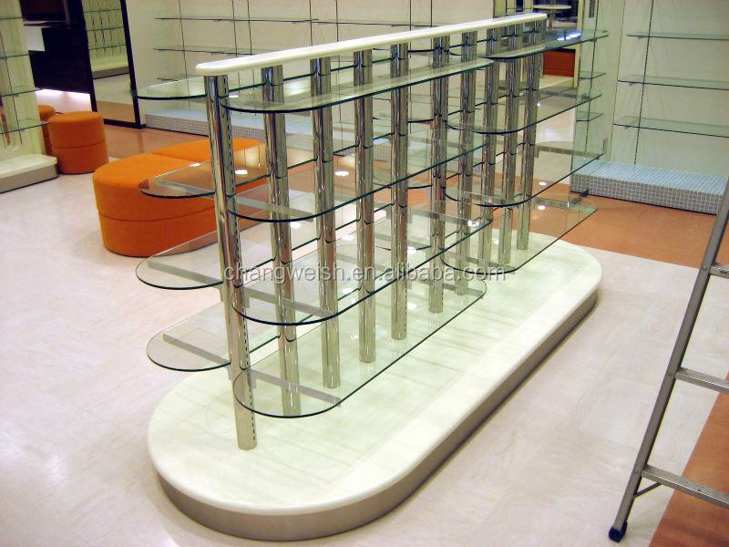 rak display toko tas: Kaki panas memakai rak display sepatu alat kelengkapan toko