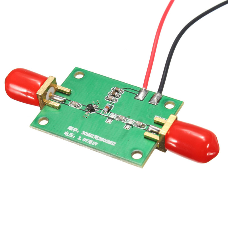 DIY Brand 20MHz-2.4GHz Low Noise Small Signal Broadband RF Receiver Amplifier