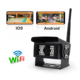 Wifi wireless backup camera for bus or truck