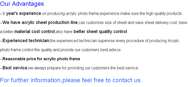 Acrylic Magnetic Photo Frame/square Acrylic Photo Frame/acrylic ...