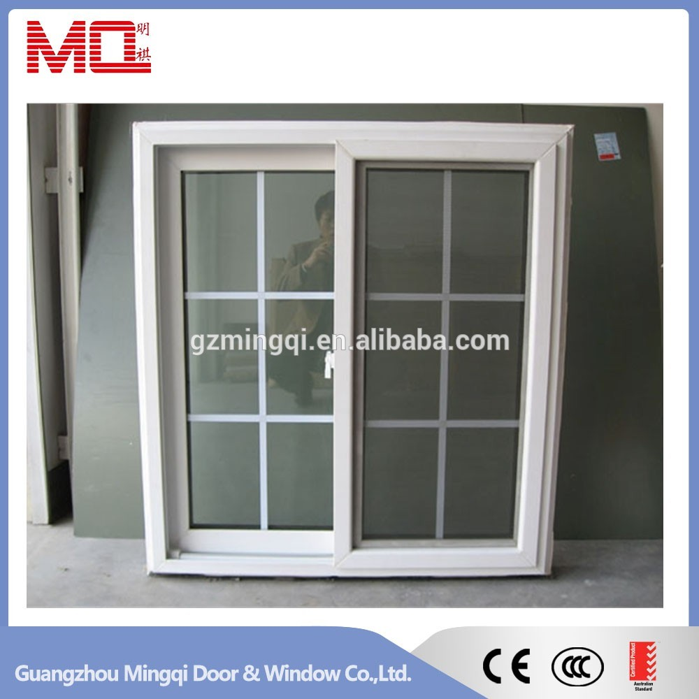 Pvc sliding window price grill design Price for house windows