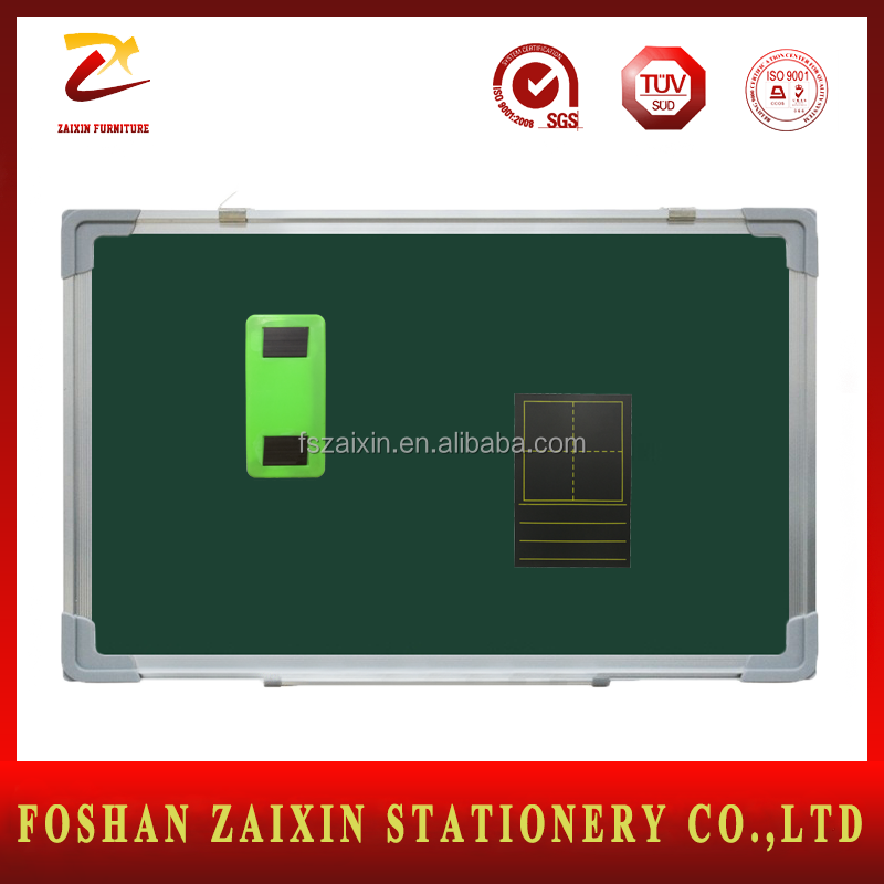 Wholesale Price Magnetic Green board aluminum frame green board School Chalkboard