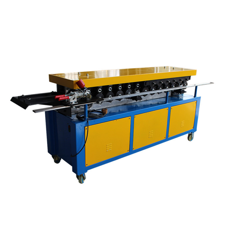 TDF Flange Forming Machine , square duct flange forming machine