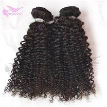 Bouncy Poses Natural Shine Color 100% Pure Virgin Indian Hair/Remy Hair/Natural Curly
