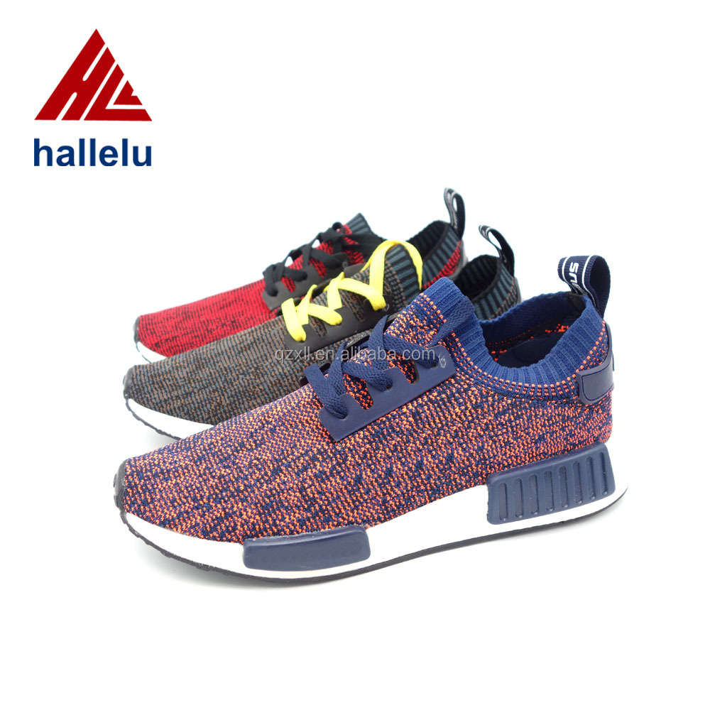 Knitted Shoe Uppers Normal Stitching Mesh Fabric Shoe Uppers Hallelu Indivisual Designs Casual Shoes