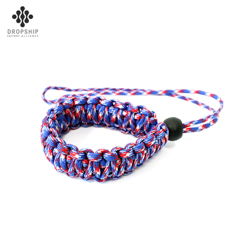Dropship DS-SG1022  new style customized color outdoor camping kit 550 mix color Survival bracelet clips/ paracord clips