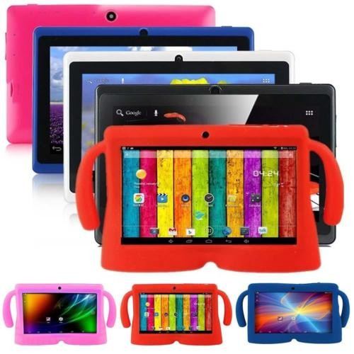 Cheapest Tablet PC Made in China OEM and ODM 7inch tablet pc android 4.4 quad core double camera kids tablets