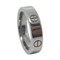 Shenzhen wholesale cheap tungsten wedding rings from china