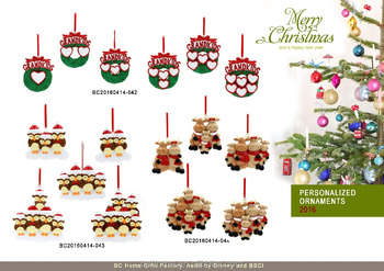 Personalize Christmas Ornaments Decoration Gifts Disney Audit ...