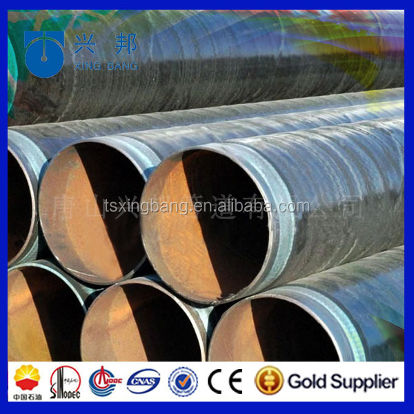 2017 NEW 12inch hdpe coating LNG steel pipe buried underground