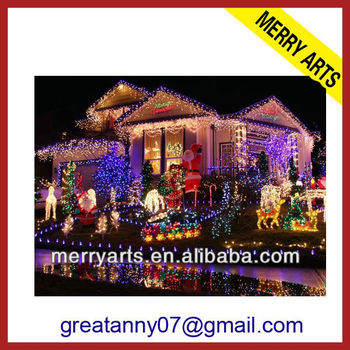 giant outdoor programmable permanent decorative outfit led christmas