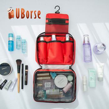 1d1f35e98 De la cremallera de maquillaje organizador lavado bolsa neceser cosmético, bolsa  para hombres y mujeres