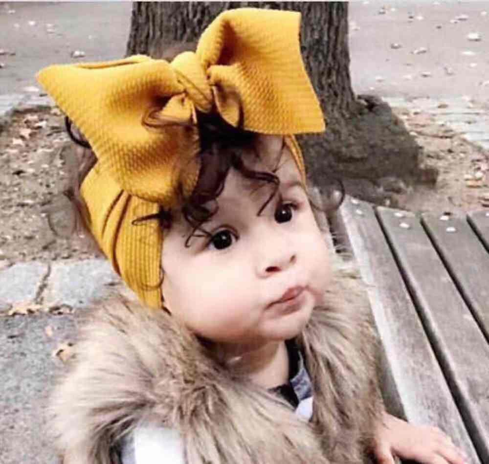 Gold Velvet Bow Baby <strong>Hair</strong> Band For Kids Baby <strong>Hair</strong> <strong>Accessories</strong> bow tie baby headband