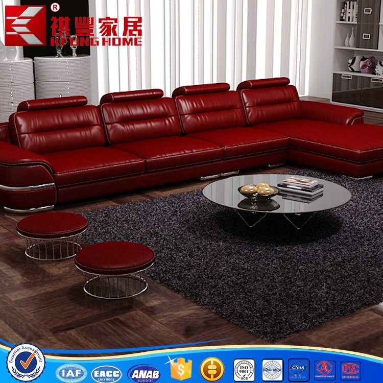 2016 nieuw design moderne woonkamer hoekbank-woonkamer sofa ...
