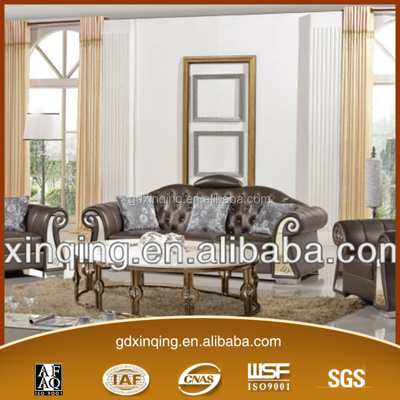 EF-002 Xinqing Modern Leather Italian Living Room Furniture Sofa