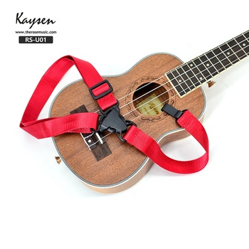 Hot sell cheap nylon colorful ukulele strap made in China