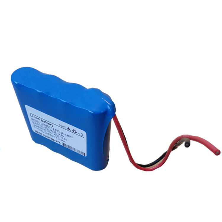14.8v li ion battery pack 3400mah 4s1p 18650 li-ion battery pack