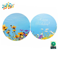 Good quality Handmade sound module musical audio greeting cards