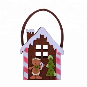 Arrival non-woven bag House designed kids Christmas gift handbags.