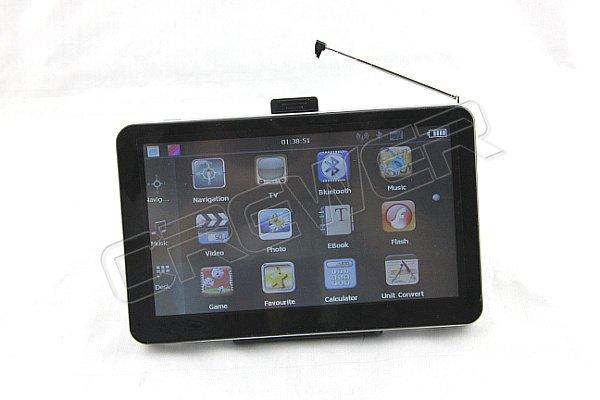 Preferential NEW 7inch  Car Gps With Analog TV Bluetooth AV IN 4GB+DDR128M