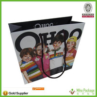 High quality customized shopping paper bag