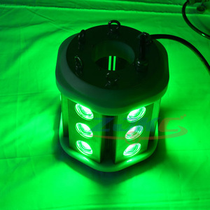 600W Submersible 12V White and Green Squid LED Underwater Fishing Lights