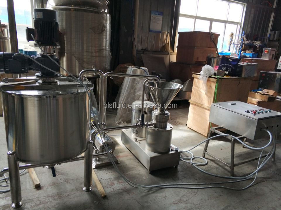 Hot sale Customized mayonnaise making machine/mayonnaise emulsifying machine