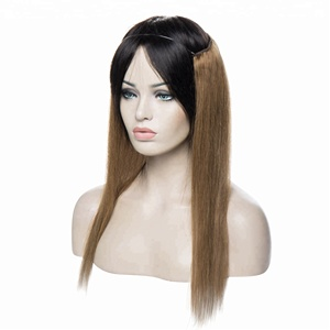 Light brown wholesale straight natural remy human halo in hair extension for Fashion white women