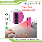 Mini Sans Fil Portable Bluetooth Clavier Laser