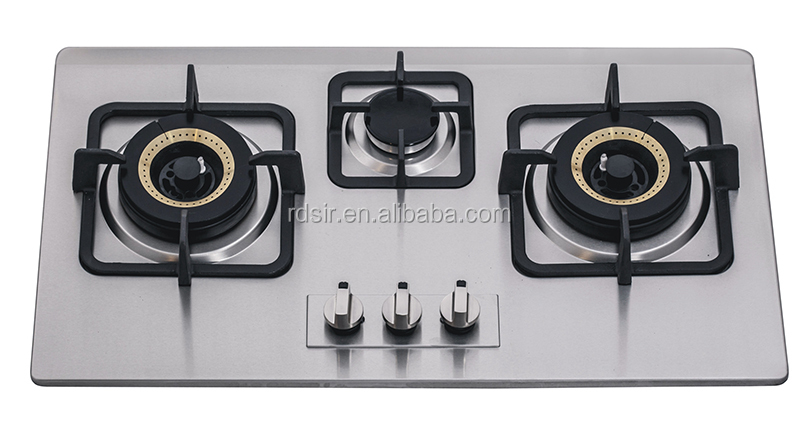 Gas Stove 3 Burner, Gas Stove 3 Burner Suppliers And Manufacturers At  Alibaba.com